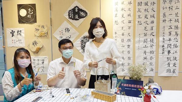 鹿秀社區大學春季靜態展 鹿港鎮圖書藝文中心展出