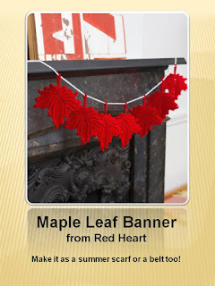 http://www.redheart.com/free-patterns/maple-leaf-banner