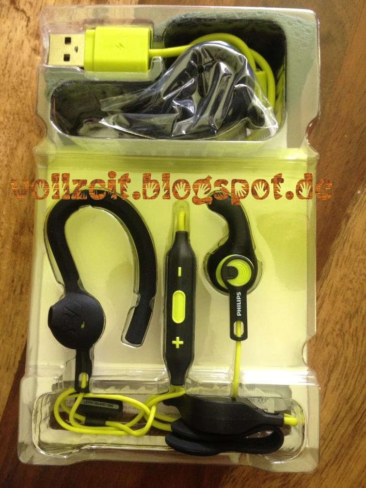 VollZeit TestZeit : Philips ActionFit Bluetooth Sportkopfhörer im Test