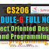 Module 6 Note-CS206 [JAVA] Object Oriented Design and Programming