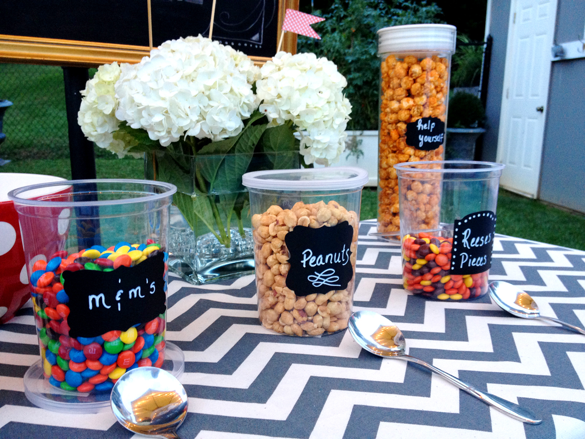 Party Inspiration: Movie Night and a Popcorn Bar | Less ...