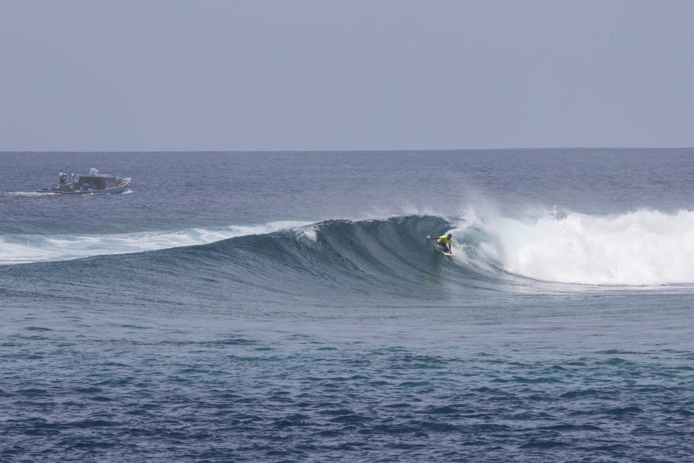 7 Iboo Four Seasons Maldives Surfing Champions Trophy foto WSL Sean Scott