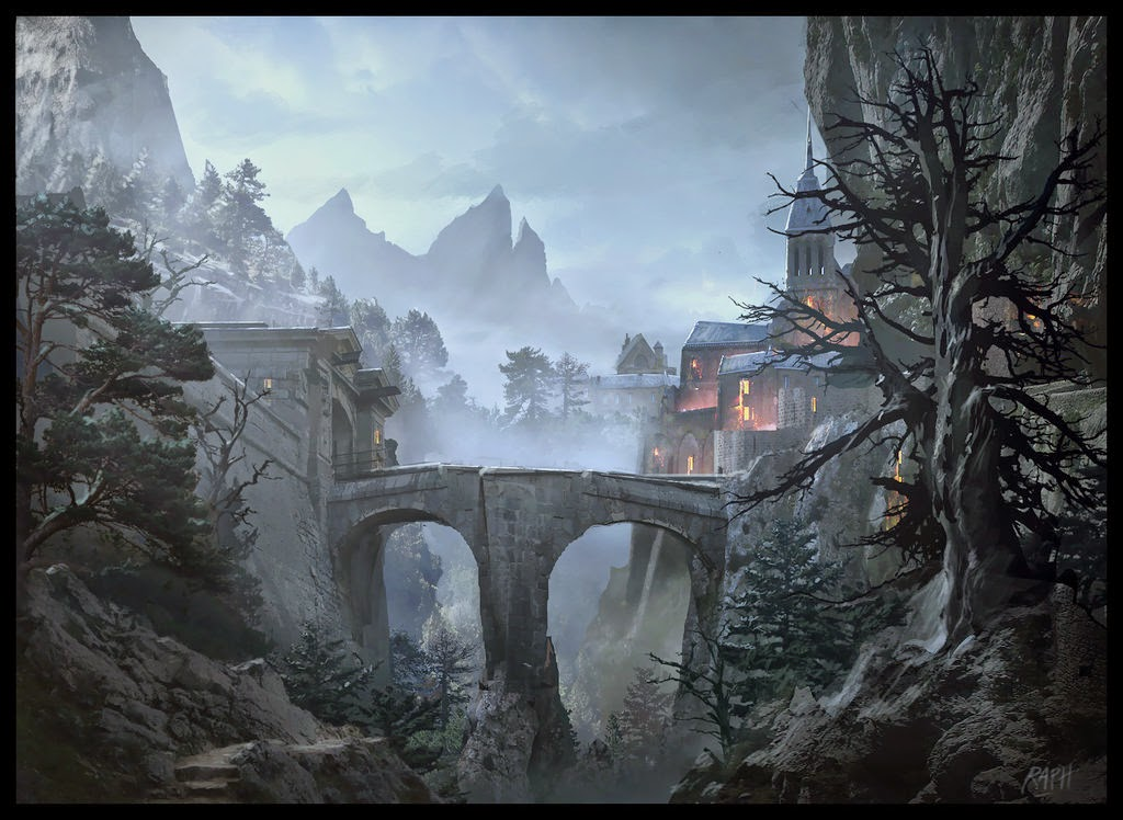 16-Workshop-Painting-Raphael-Lacoste-Matte-Paintings-and-Concept-Worlds