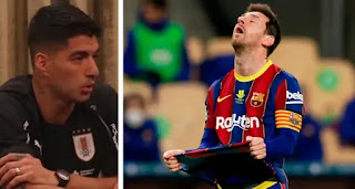 'Messi gave Barca much more than any other player could've ever given': Atletico Madrid striker Suarez