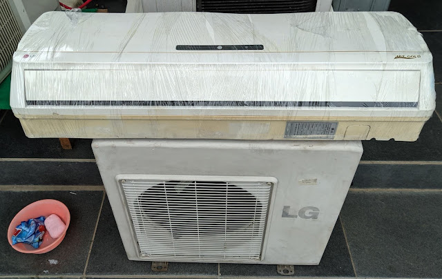 Jual AC LG 34 PK Gratis Pemasangan