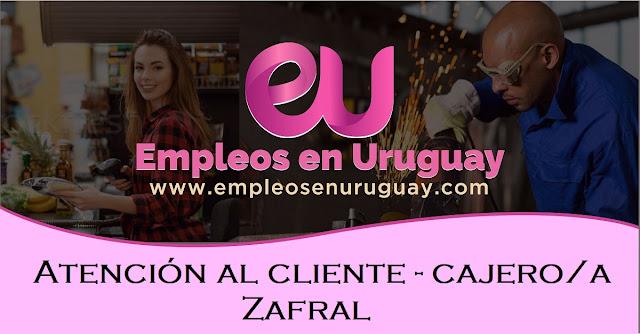 Atención al cliente - cajero/a - Zafral