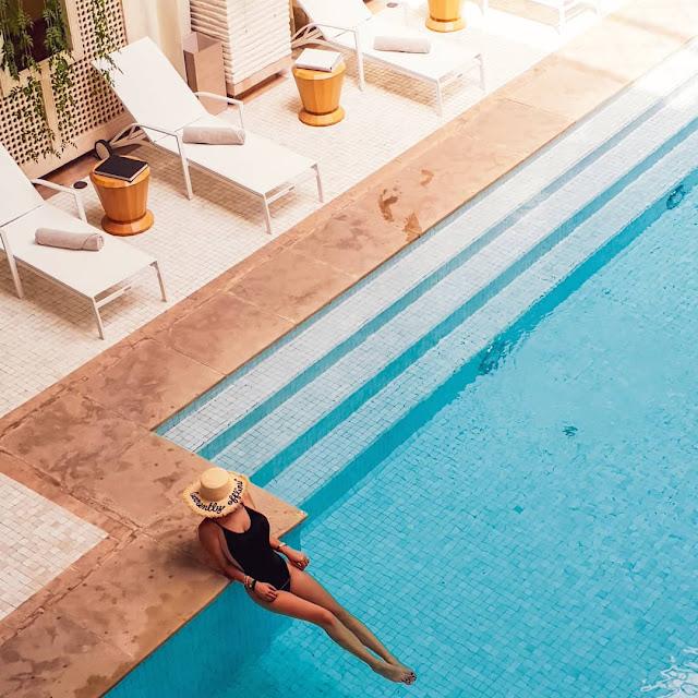 Marrakech, resort Fairmont Royal Palm. Alessia Siena nella Spa