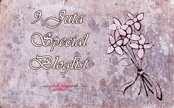 Segmen 9 Juta Special Bloglist'