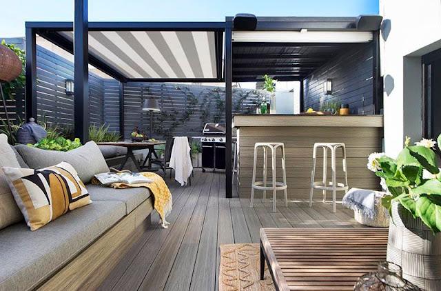 Vậy khi đặt bếp trên sân thượng liệu có ảnh hưởng gì đến phong thủy của ngôi nhà khi mà quy luật thiết kế truyền thống bị phá vỡ.