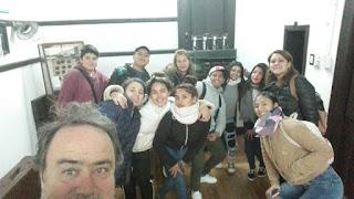 Estudiantes de la Secundaria 54 visitaron el Museo Histórico de Monte Chingolo