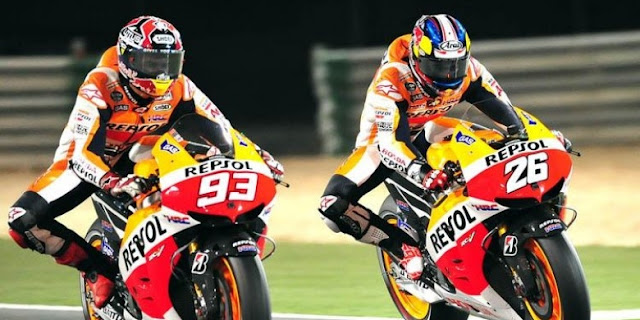 Marquez dan Pedrosa sama-sama mendapatkan sasis baru untuk dijajal