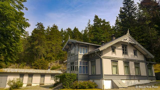 Casa de Amundsen en Uranienborg - Noruega, por El Guisante Verde Project
