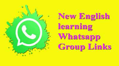 New English learning Whatsapp Group Links