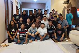 Wilayah Santa Felisitas Mendapat Kunjungan Dari Romo Yustinus Kesaryanto Beserta Beberapa Pengurus Dewan Paroki Harian.