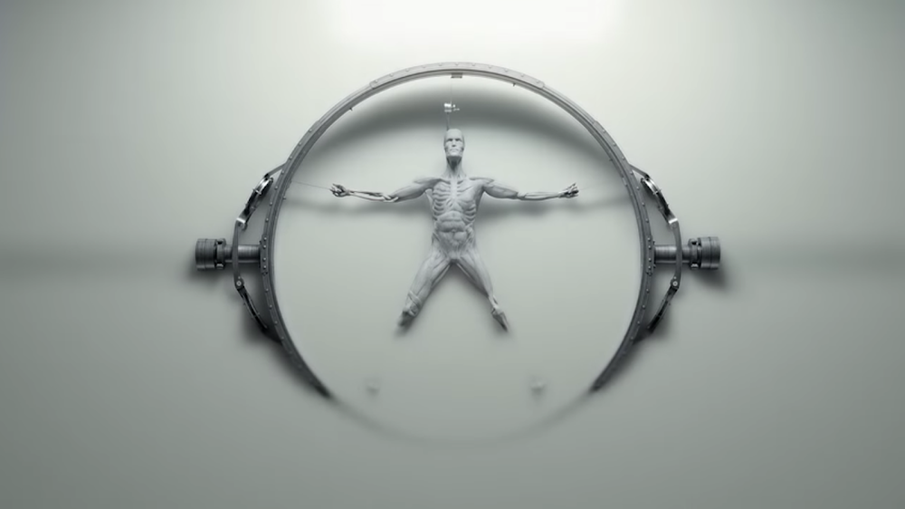 HBO Westworld opening credits screenshots