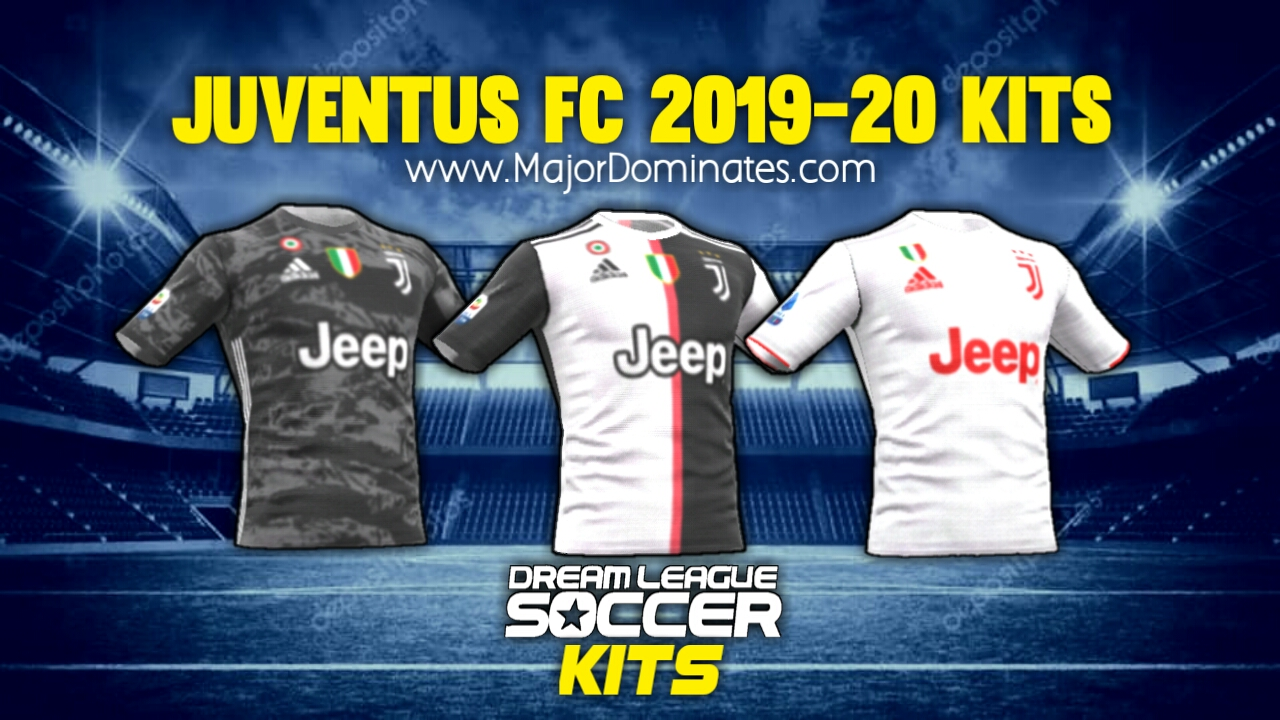 premium selection a9dd1 1ccff Juventus FC Kit 2019-20 for Dream League Soccer 2019 - Dls Kits