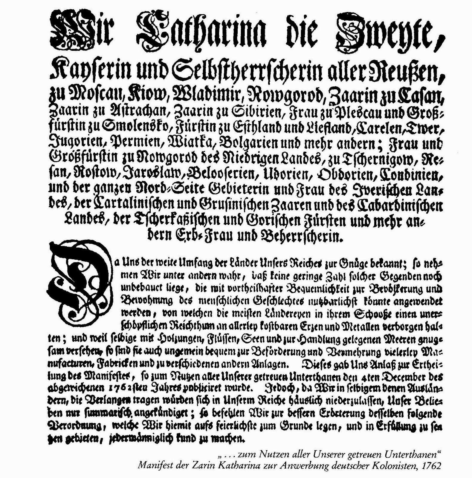 Manifest Deutsch