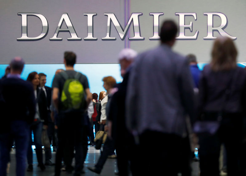 Daimler to recall 60,000 Mercedes diesels in Germany over emissions..