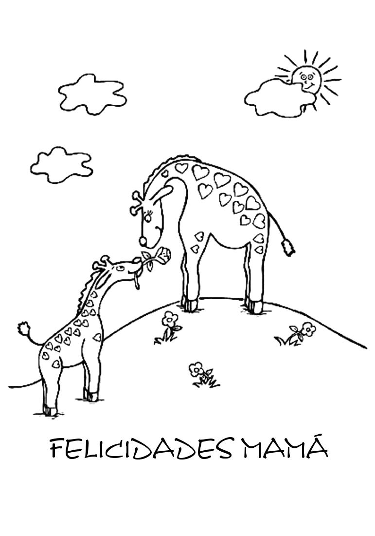 Mi Mundo Infantil: DIBUJOS PARA MAMÁ