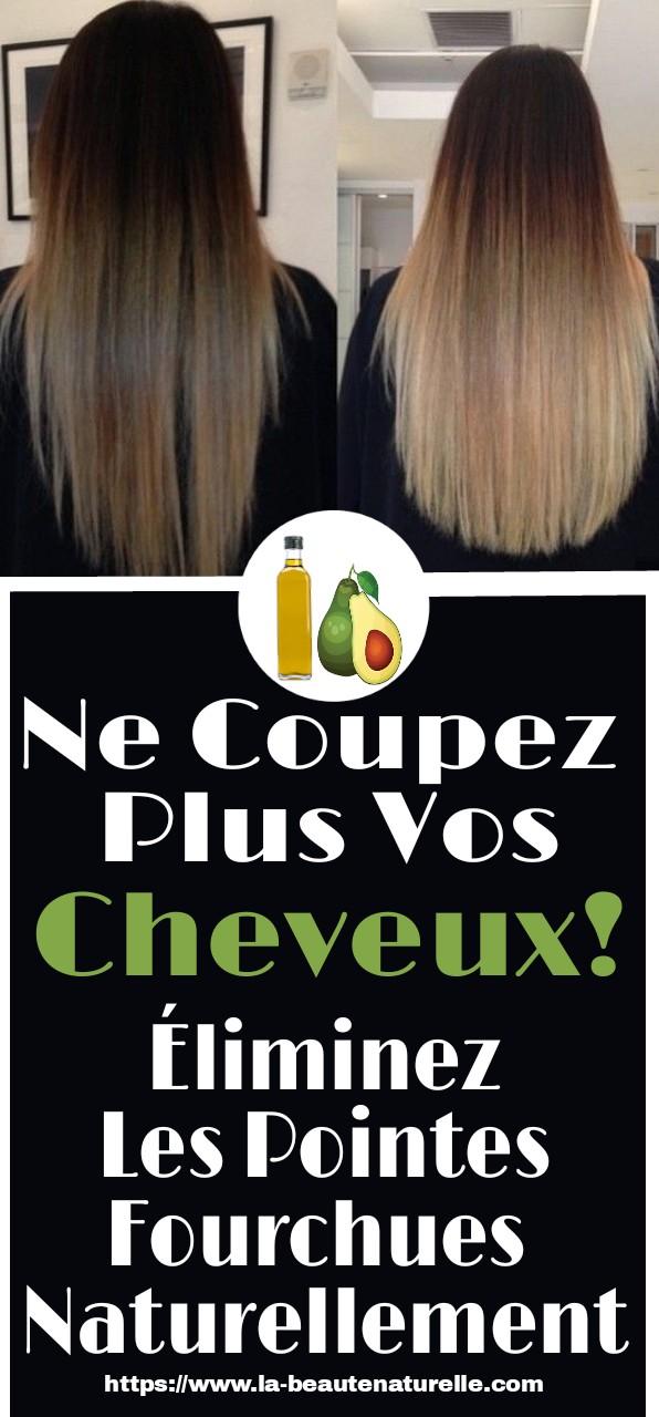 Ne coupez plus vos cheveux! Éliminez les pointes fourchues naturellement
