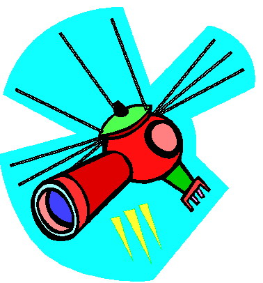 All Cliparts: Satellite Clipart