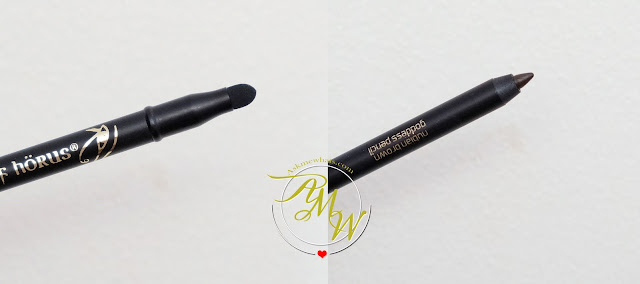 a photo of Eye Of Horus Rubian Brown Goddess Pencil Review by Nikki Tiu Askmewhats