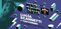 Concierto de Lucía Scansetti y Tom Forbes en Café Berlín