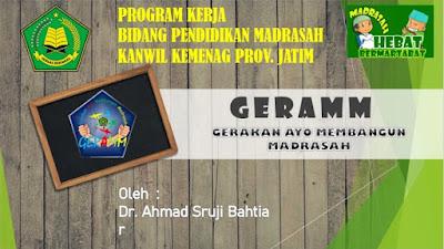 Kumpulan Materi Gerakan Ayo Membangun Madrasah (GERAMM) Provinsi Jawa Timur