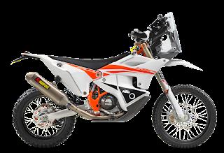 Spesifikasi KTM 450 Rally Replica