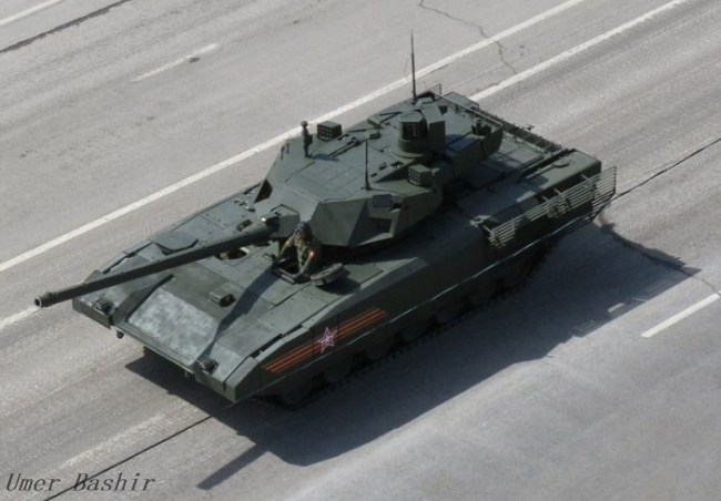 Military secrets: What happened to Russia's new T-14 tank in Syria?