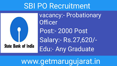 sbi probationary officer recruitment, sbi recruitment, sbi po vacancy