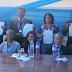 POR ANIVERSARIO DE PUEBLO NUEVO SE PREMIÓ A DOCENTES QUE PARTICIPARON EN EL CONCURSO NACIONAL DE MINEDU Y A PROMOTOR DE MÚSICA ANDINA