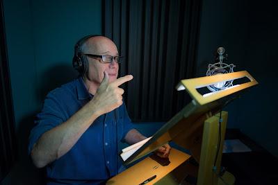 Ricardo Boechat narrando a série (Foto: Cauê Moreno)