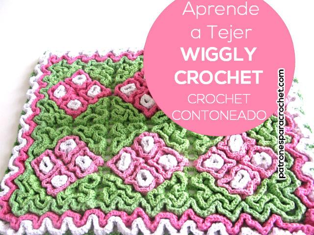 Aprende Crochet Contoneado o Crochet Wiggly / Tutorial y revista ...