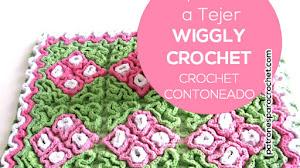 Aprende Crochet Contoneado o Crochet Wiggly / Tutorial y revista para descargar gratis