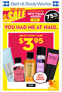 Bath & Body Works | Today's Email - January 13, 2020