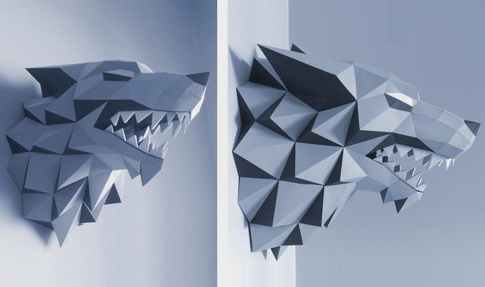 How To Make A Origami Dragon Head Step By Step