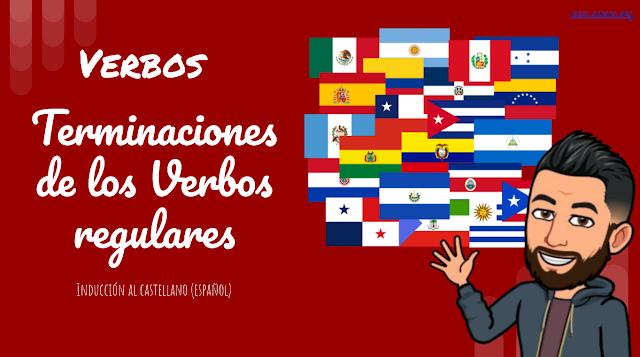 Cómo conjugar verbos regulares y algunos irregulares