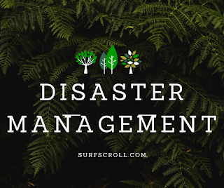 Disaster Management Notes for upsc