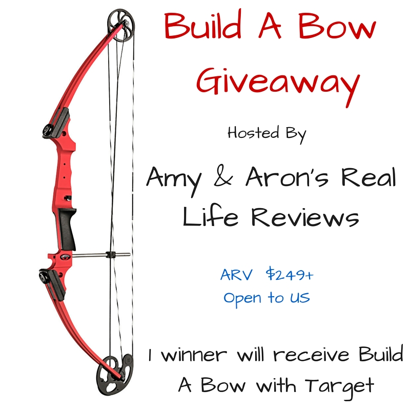 Build A Bow Giveaway Hosted by Amy and Aron's Real Life