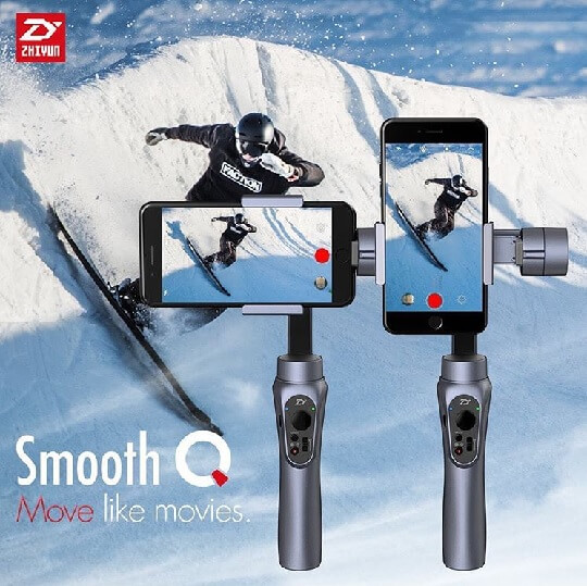 Zhiyun Smooth-Q Smartphone Gimbal Pre-order Starts Tomorrow