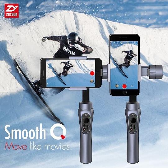 Zhiyun Smooth-Q Smartphone Gimbal Pre-order Starts Tomorrow