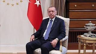 """أردوغان يجري اتصالا هاتفيا مع مواطنة تبرعت بخاتمها لمواجهة """"كورونا"""" (فيديو)"""