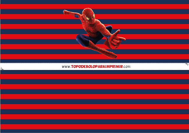 faixa lateral homem aranha