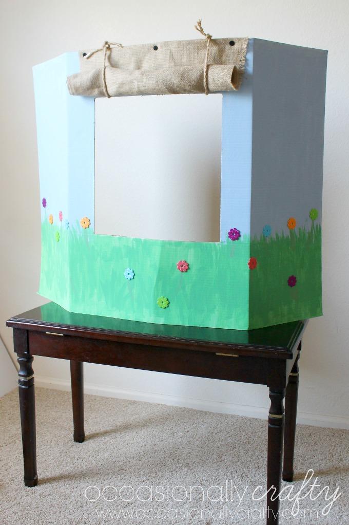 DIY Puppet Show Theater: Helping Children Express Emotions ...