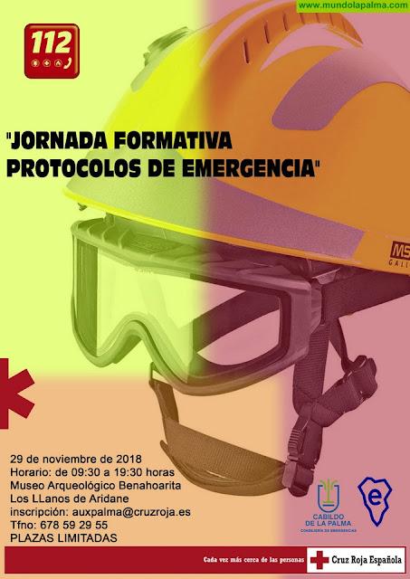El Cabildo celebra una jornada formativa de protocolos de emergencias