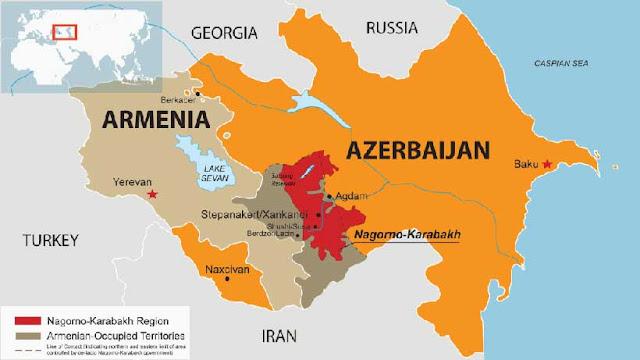 how did the ceasefire begin between azerbaijan and armenia