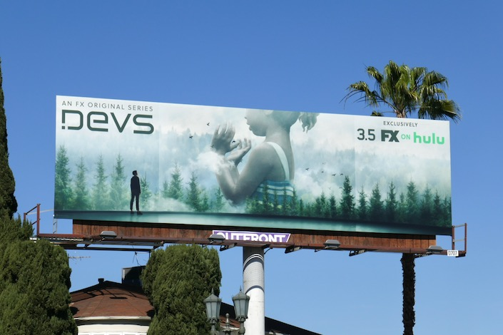 Devs FX Hulu series billboard