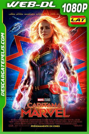 Capitana Marvel 2019 1080P WEB-DL Latino – Inglés