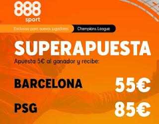 888sport superapuesta Barcelona vs PSG 16-2-2021